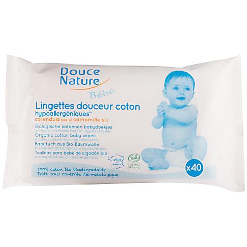 Douce Nature - Biologisch afbreekbare babydoekjes