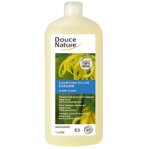 Douce Nature - Evasion Shampoo & Douchegel (Ylang ylang) 1L