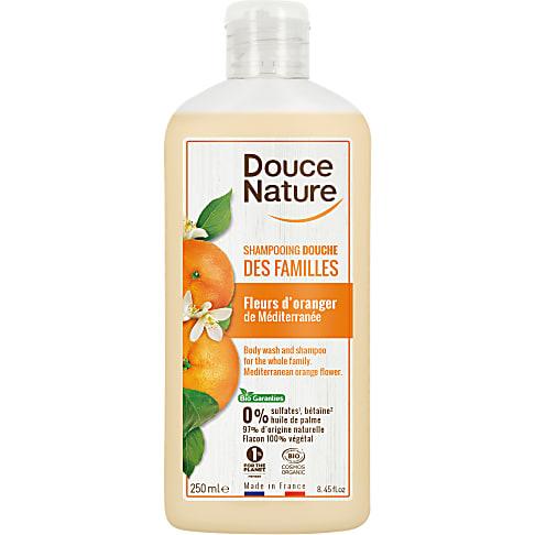 Douce Nature Douchegel & Shampoo - Oranjebloesem 250ml