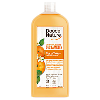 Douce Nature 2-in-1 Shampoo & Douchegel Familie 1L