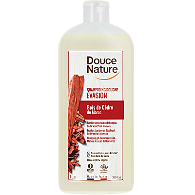 Douce Nature - Santal Relax Shampoo & Douchegel 1L