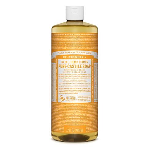 Dr. Bronner's Citrus Orange Vloeibare Zeep - 946ml