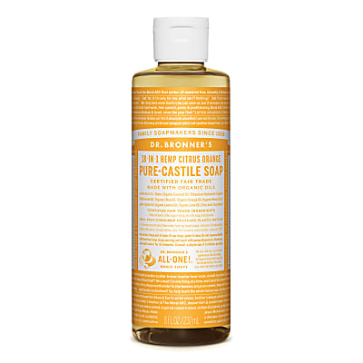 Dr. Bronner's Citrus Orange Vloeibare Zeep - 237ml