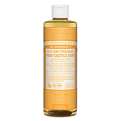 Dr. Bronner's Citrus Orange Vloeibare Zeep - 475ml