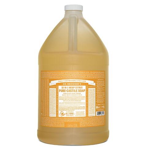 Dr. Bronner's Citrus Orange Vloeibare Zeep - 3.78L