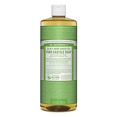 Dr. Bronner's Green Tea Vloeibare Zeep - 946ml