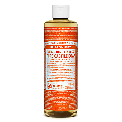 Dr. Bronner's Tea Tree Vloeibare Zeep - 475ml