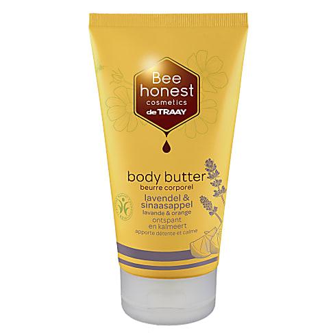 De Traay Bee Honest Body Butter Lavendel & Sinaasappel