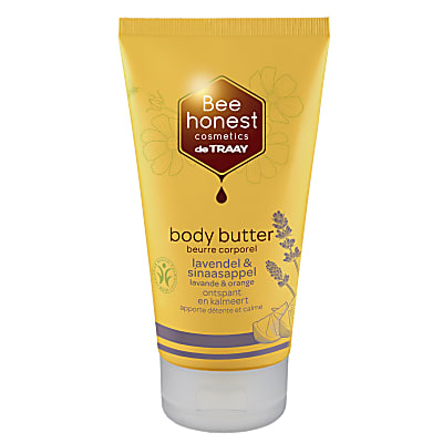 De Traay Bee Honest Body Butter Lavendel & Sinaasappel
