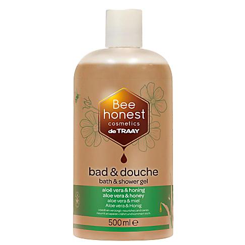 De Traay Bee Honest Bad & Douche Aloë & Honing 500ml