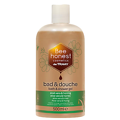 De Traay Bee Honest Bad & Douche Aloë & Honing 500ml