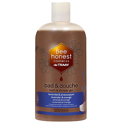 De Traay Bee Honest  Bad & Douche  Lavendel en Sinaasappel - 500ML