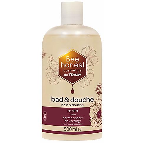 De Traay Bee Honest Bad & Douche Rozen 500ml