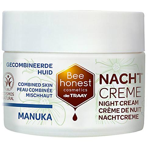 De Traay Bee Honest Manuka Nachtcrème
