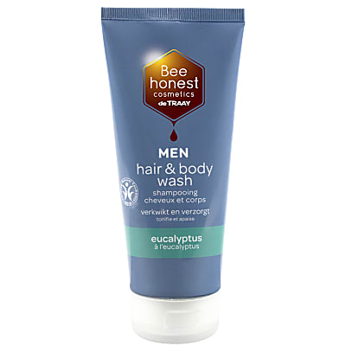 De Traay Bee Honest Hair & Body Wash Men Eucalyptus 200ml