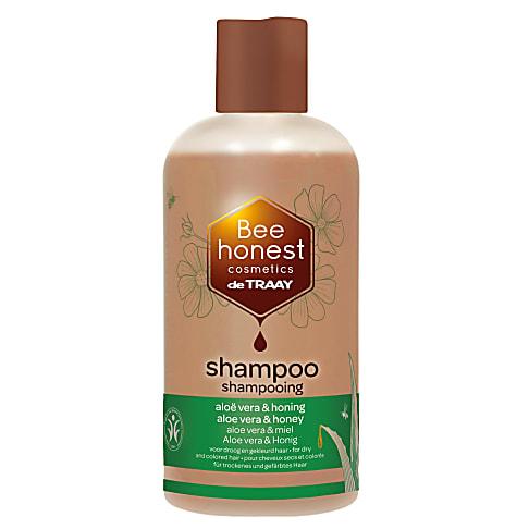 De Traay Bee Honest Shampoo Aloe Vera & Honing 250ML (droog/gekleurd)