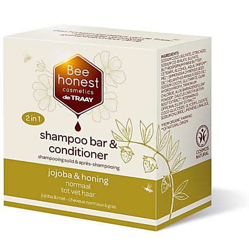 De Traay Bee Honest Shampoo & Conditioner Bar Jojoba & Honing