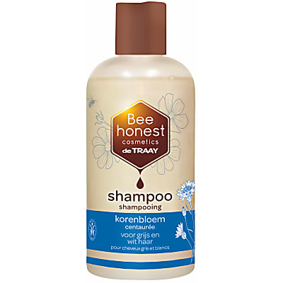 De Traay Bee Honest Shampoo Korenbloem 250ML (wit/grijs)
