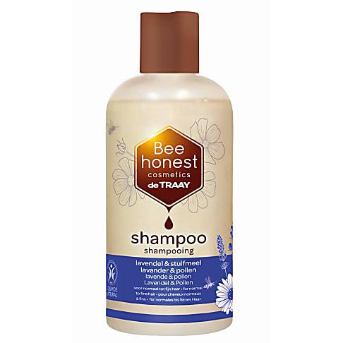 De Traay Bee Honest Shampoo Lavendel & Stuifmeel 250ML (dun en gevoelig)
