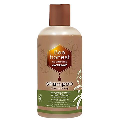 De Traay Bee Honest Shampoo Verveine & Citroen 250ML (dun & vet)