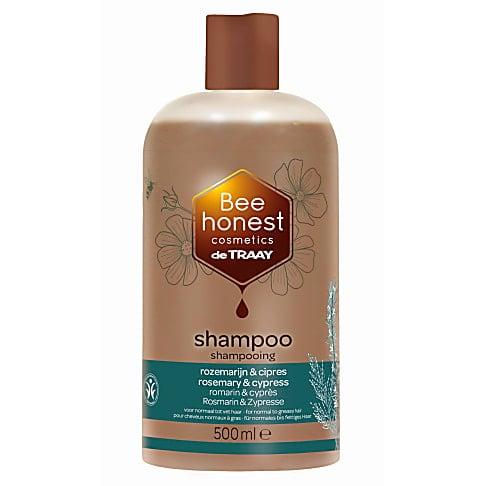 De Traay Bee Honest Shampoo Rozemarijn & Cipres 500ml (vet)