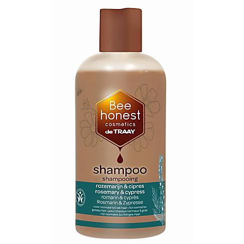 De Traay Bee Honest Shampoo Rozemarijn & Cipres 250ml (vet)