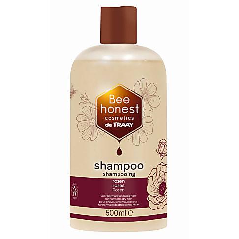 De Traay Bee Honest Shampoo Rozen 500ML (droog & normaal)