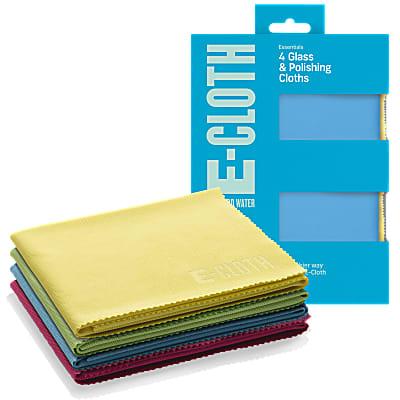 E-Cloth Glas & Polijst Stofdoek (4 Pack)