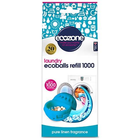 Ecozone Ecoballs Navullingen 1.000 wasbeurten - Pure Linen