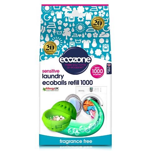 Ecozone Ecoballs Navullingen 1.000 wasbeurten ballen