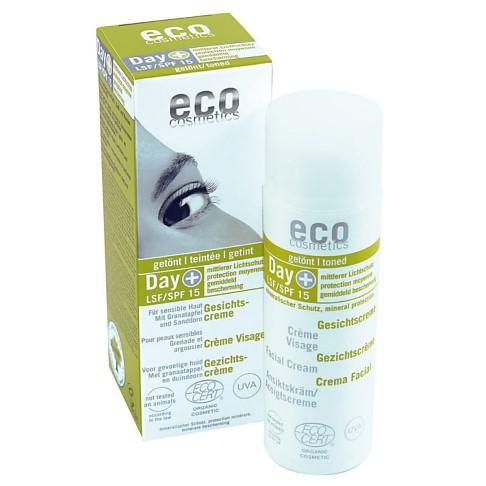 Eco Cosmetics Gezichtcremè Getint SPF 15