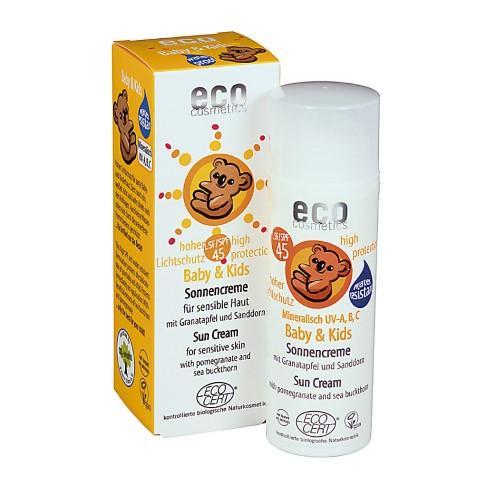 Eco Cosmetics Baby Zonnebrandcrème SPF45