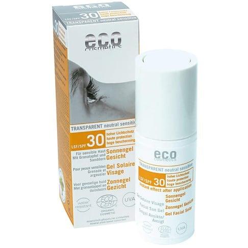 Eco Cosmetics Zonnebrand Gel Gezicht SPF30