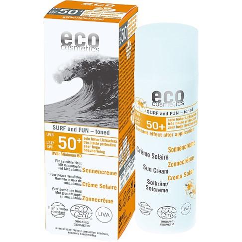 Eco Cosmetics Zonnecrème SPF 50 Surf & Fun