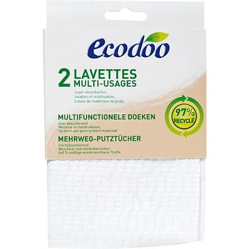 Ecodoo Multifunctionele Schoonmaakdoeken