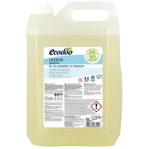 Ecodoo Hypoallergeen Vloeibaar Wasmiddel 5L (166 wasbeurten)