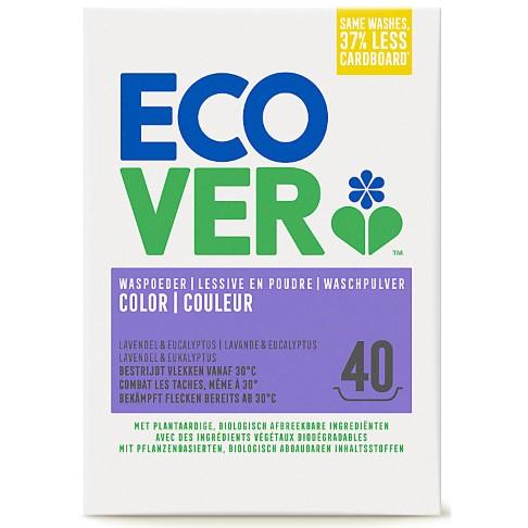Ecover Waspoeder Color 3KG (40 wasbeurten)