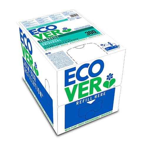 Ecover Vloeibaar Wasmiddel 15L Navulverpakking (tot 300 wasbeurten)