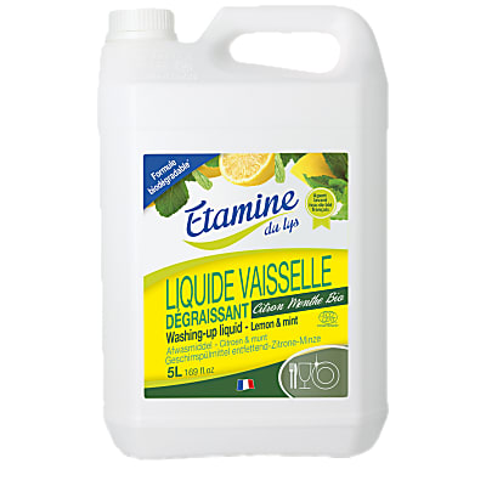 Etamine Du Lys Vloeibaar Afwasmiddel Munt & Citroen 5L