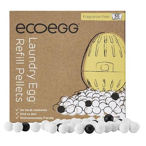 Eco Egg Wasbal Refill Pellets (50 wasbeurten) - Parfumvrij