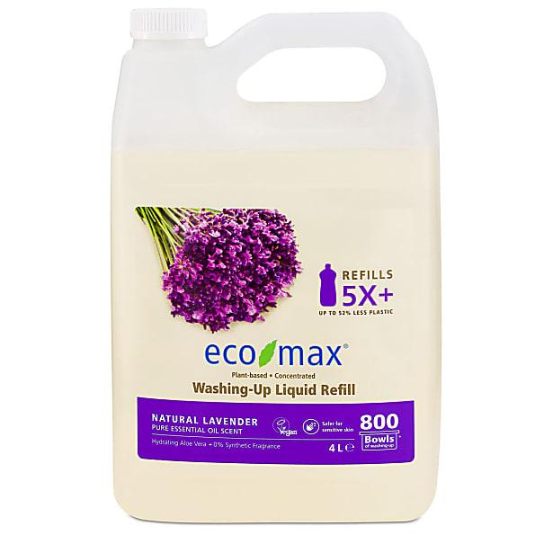 Eco-Max Vloeibaar Afwasmiddel - Natuurlijke Lavendel 4L