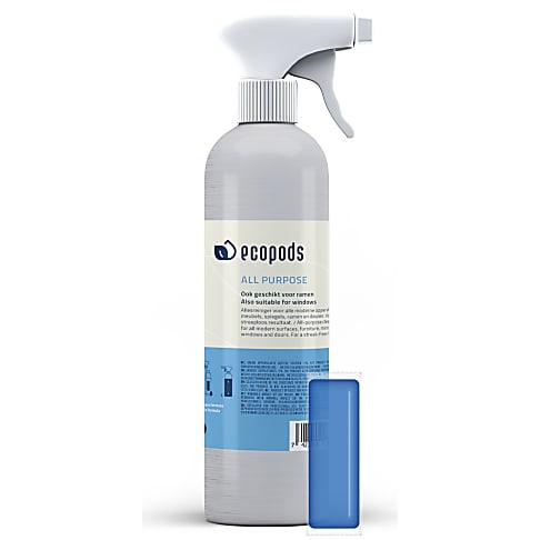 Ecopods Aluminium Verstuiver Allesreiniger (+ pod)
