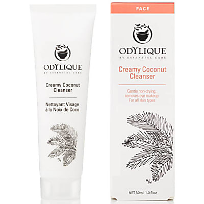 Odylique by Essential Care Creamy Coconut Cleanser (30ml) Reisverpakking