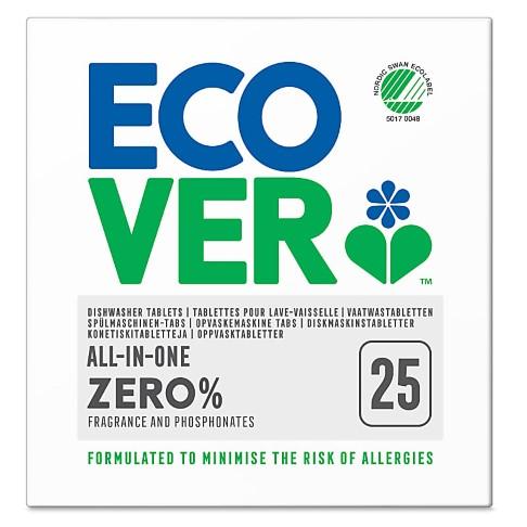 Ecover Zero Vaatwastabletten All in One (25 stuks)
