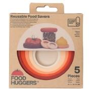 Food Huggers® Terra Cotta (5 stuks)