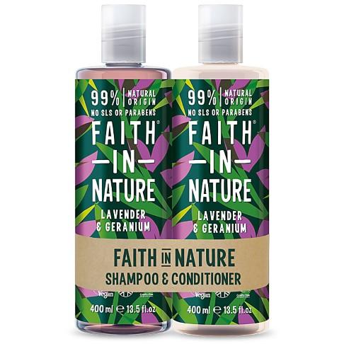 Faith in Nature Lavendel & Geranium 2 in 1 Pack - Shampoo & Conditioner