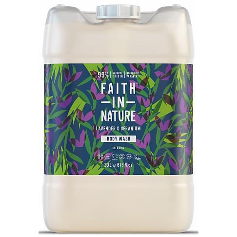 Faith in Nature Lavendel & Geranium Douchegel - 20L