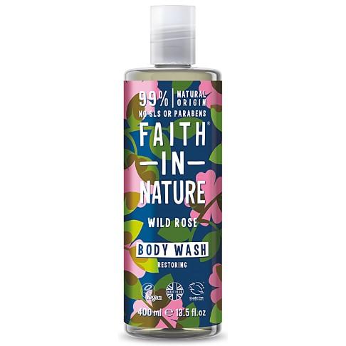 Faith in Nature Wild Rose Bad-en Douchegel - 400ml