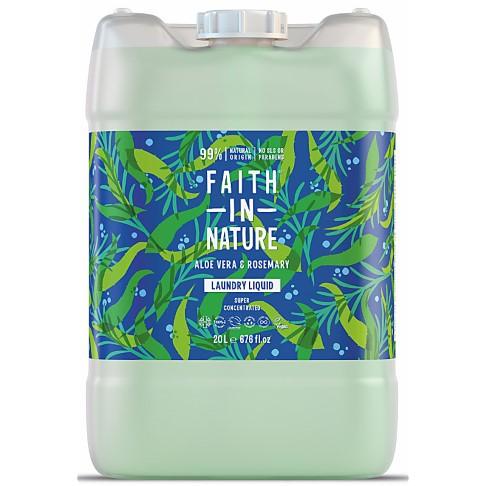 Faith in Nature Geconcentreerde Vloeibare Was Aloe Vera & Rozemarijn - 20L