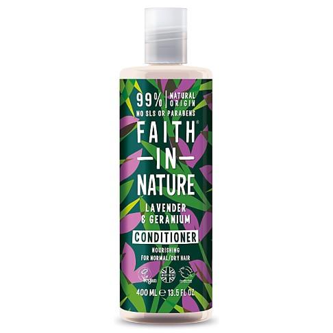 Faith in Nature Lavendel & Geranium Conditioner (normaal tot droog haar)